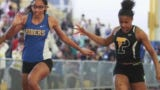 Caesar Rodney's Destiny Bailey-Perkins sweeps three events at the DIAA Indoor meet, sets big goals for this spring.