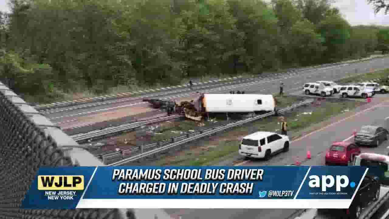 NewsBreaks: NJ bus driver has been charged in the deadly crash on Rt 80