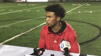 True freshman receiver Garrett Wilson confident in his abilities