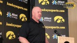 Iowa strength coach Chris Doyle welcomes back former Hawkeyes in the NFL on a daily basis in the offseason.