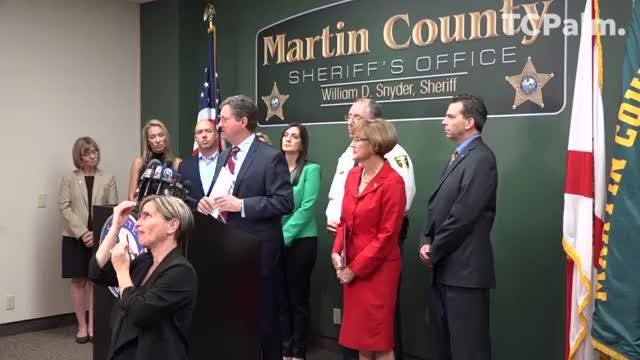 State Sen  Gayle Harrell hosts news conference on hepatitis A outbreak
