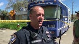 Police arrest a man holed up for eight hours after firing shots in an Oxford Road home.