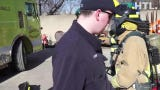 Firefighters work on their skills weekly.