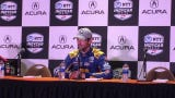 Alexander Rossi discusses the advantages of starting from pole and the need to get off to a fast start on Sunday.