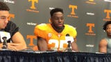 Linebacker Daniel Bituli was named UT's most improved player of the spring.