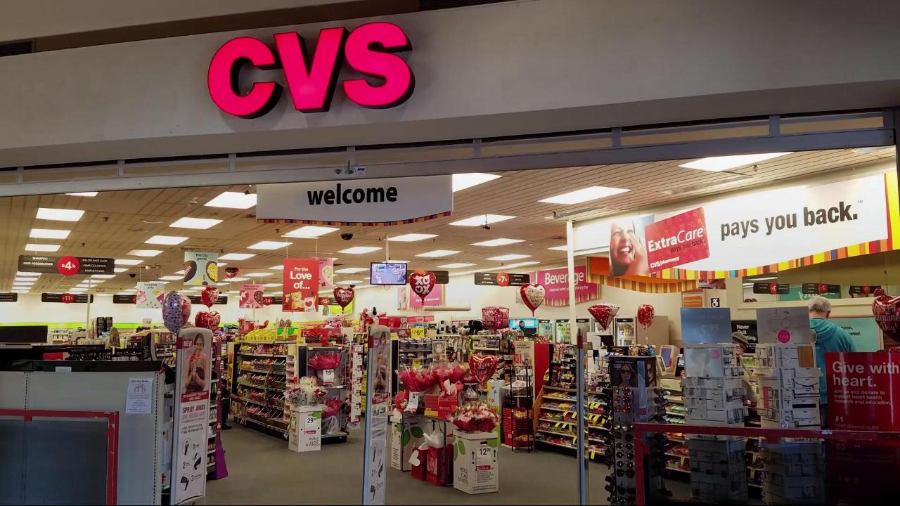 What does CVS stand for?