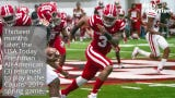 UL outside linebacker Joe Dillon recovered from major hip surgery performed in March 2018 to play in the Ragin' Cajuns' 2019 spring game.