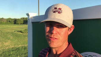 Mississippi State golf coach Dusty Smith talks rounds one and two at Old Waverly Collegiate Championship.