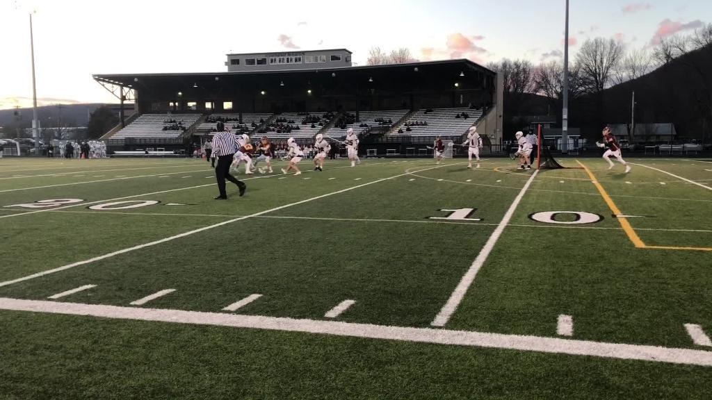 Video: Corning boys top Ithaca in lacrosse