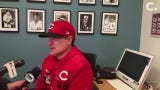 Reds manager David Bell talked about Raisel Iglesias surrendering a walk-off homer to Joc Pederson on Monday and Luis Castillo's start against L.A.