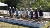 The Naples Children & Education Foundation breaks ground on a new headquarters on April 16, 2019. The building will be located on Goodlette-Frank Road, just north of Golden Gate Parkway.