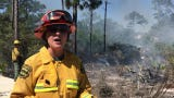 Melissa Yunis, spokeswoman for the Florida Forest Service describes how a prescribed burn near a residential area will help people and wildlife.