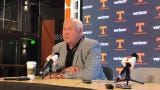 Tennessee athletic director Phillip Fulmer met with the media Tuesday