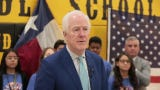 U.S. Sen. John Cornyn met with students at Parkland Middle School Tuesday to discuss the Gear Up for Success Act.
