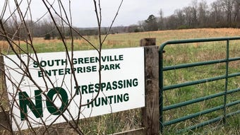 A business park promising to crack open economic development in southern Greenville is coming together, with another 485 acres  queued up this week.