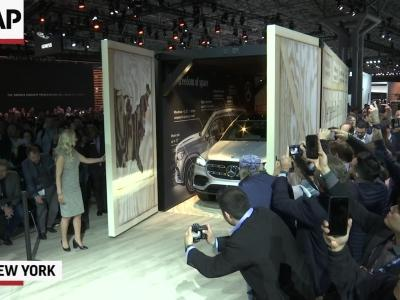 SUVs dominate at New York auto show