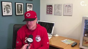 Reds manager David Bell was ejected during the fifth inning of Wednesday's 3-2 loss to the Los Angeles Dodgers.