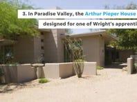 5 Frank Lloyd Wright designs in Phoenix