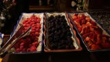 What can you expect from a buffet spread at Luciano's.
