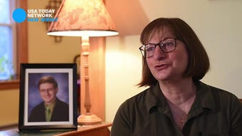 Jane Clementi, co-founder of the Tyler Clementi Foundation, speaks about NJ's conversion therapy ban, during an interview at her home in Ridgewood on April 18, 2019. She is the mother of Tyler Clementi, who died by suicide after being bullied because he was gay.