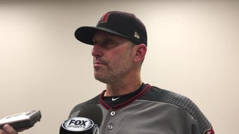 Diamondbacks manager Torey Lovullo after his team's 4-1 win over the Braves to complete a sweep at SunTrust Park.