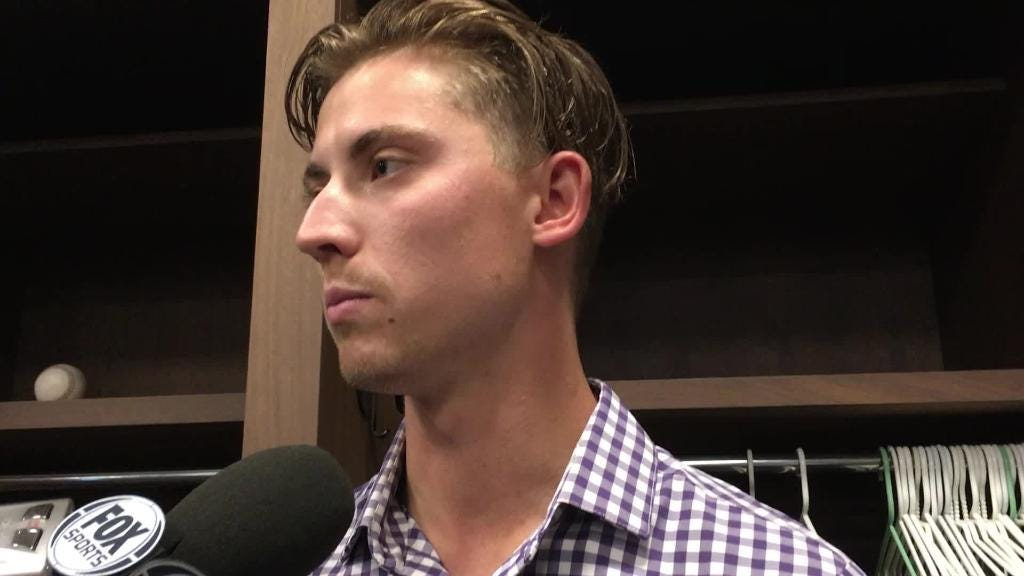 Diamondbacks' Luke Weaver on his effective pitch mix against the Braves