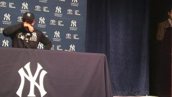 Yankees manager Aaron Boone on Domingo German's start on Thursday night in loss to Royals