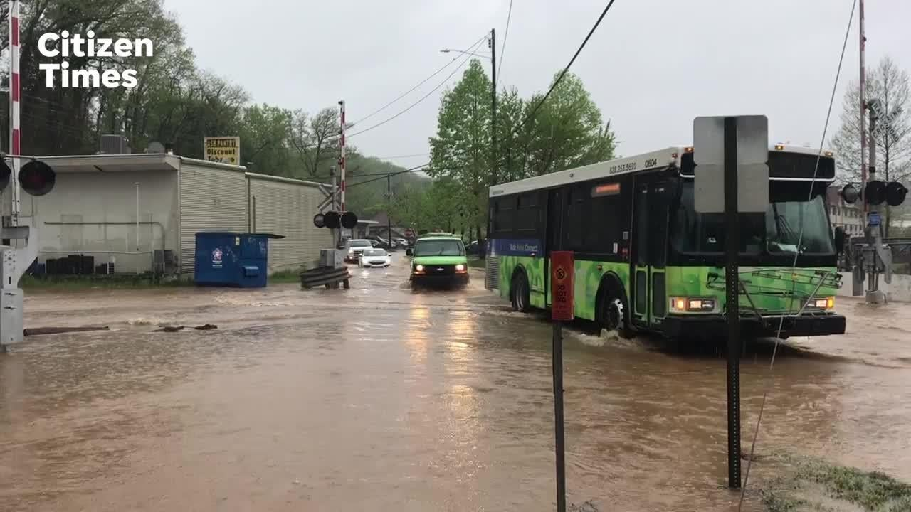 Some Asheville streets reopen after flooding; swollen rivers have crested