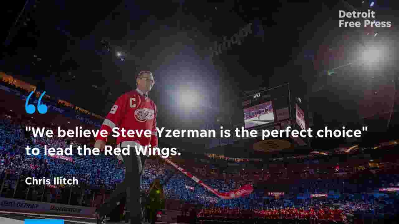 Detroit Red Wings welcoming back Steve Yzerman with news conference