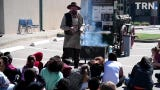 Fourth grade students from across Region 9 learn Texas history from the characters that lived it.