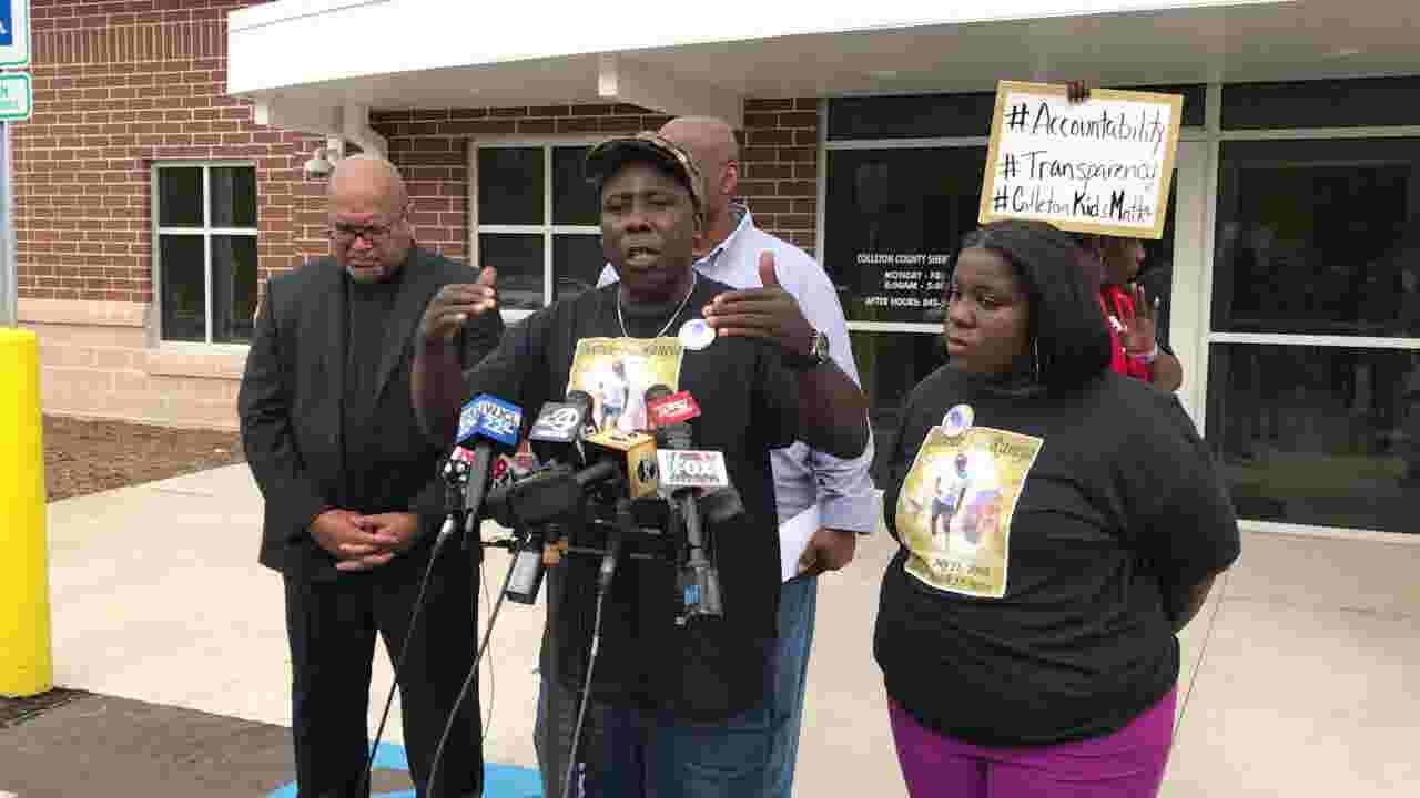 Raniya Wright's grandfather delivers powerful speech about her death