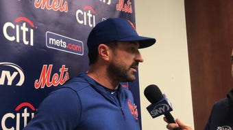 Mickey Callaway updates the status of Brandon Nimmo as the Mets start a three-game series against the St. Louis Cardinals.