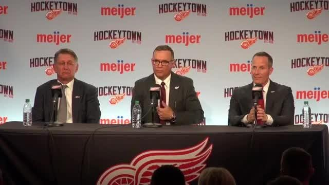 Steve Yzerman named Detroit Red Wings' GM: Watch news conference