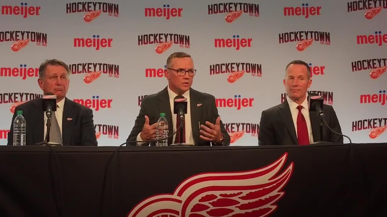 Steve Yzerman endorses Jeff Blashill, will honor contract extension