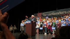 Video: Bernie Sanders makes campaign stop in Greenville