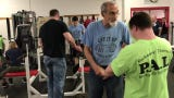Lift it Up, a weightlifting program that pairs Challenger athletes with neurotypical buddies at Morris Hills High School on Saturday, April 20, 2019.