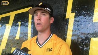 Connor McCaffery breaks down his oppo HR against Nebraska.