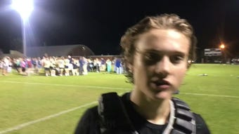 Garrison Story allowed just four goals as Gulf Breeze defeated West Florida for a district championship.