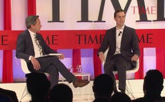 Jared Kushner sits down for an interview at the TIME100 Summit.