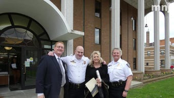 First responders in Richland County were honored Tuesday.