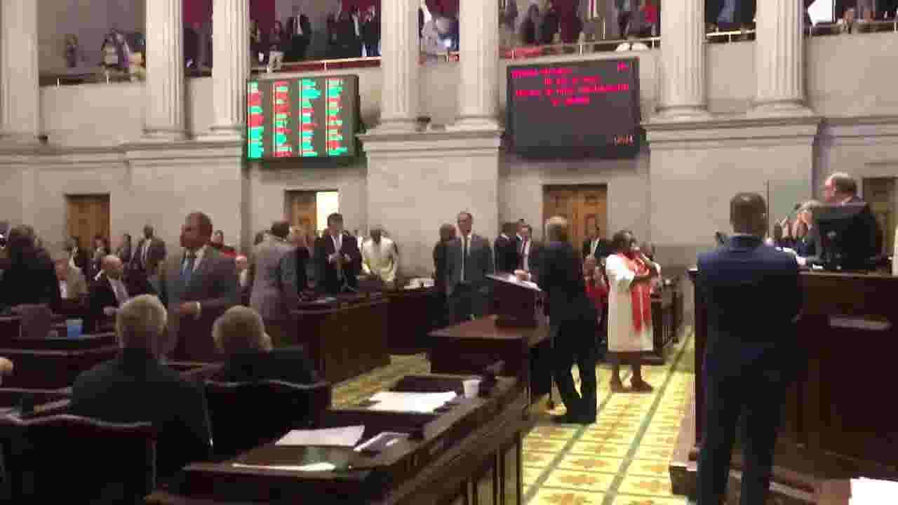 House Senate Bills Would Cut Ed Dept >> Tennessee House Passes Gov Bill Lee S School Voucher Plan In
