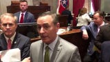 Rep. Jason Zachary and Speaker of the House Glen Casada discuss their agreement to remove Knox County from Gov. Bill Lee's voucher-style bill.
