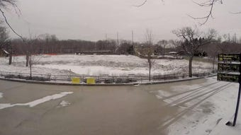 Watch a time-lapse of the Milwaukee County Zoo's new elephant exhibit being built
