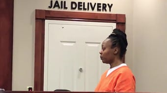 Latoshia Daniels, a Little Rock licensed social worker, is accused of killing Brodes Perry. She was in a Collierville court on Tuesday, May 23, 2019.