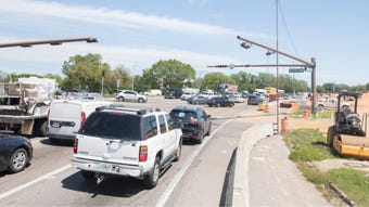 As part of the Pensacola Bay Bridge project, a new flyover and roundabout will be built at the 17th Avenue/U.S. 98 intersection.