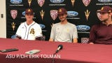 Erik Tolman, Alika Williams, coach Tracy Smith on ASU baseball 9-2 win over UNLV