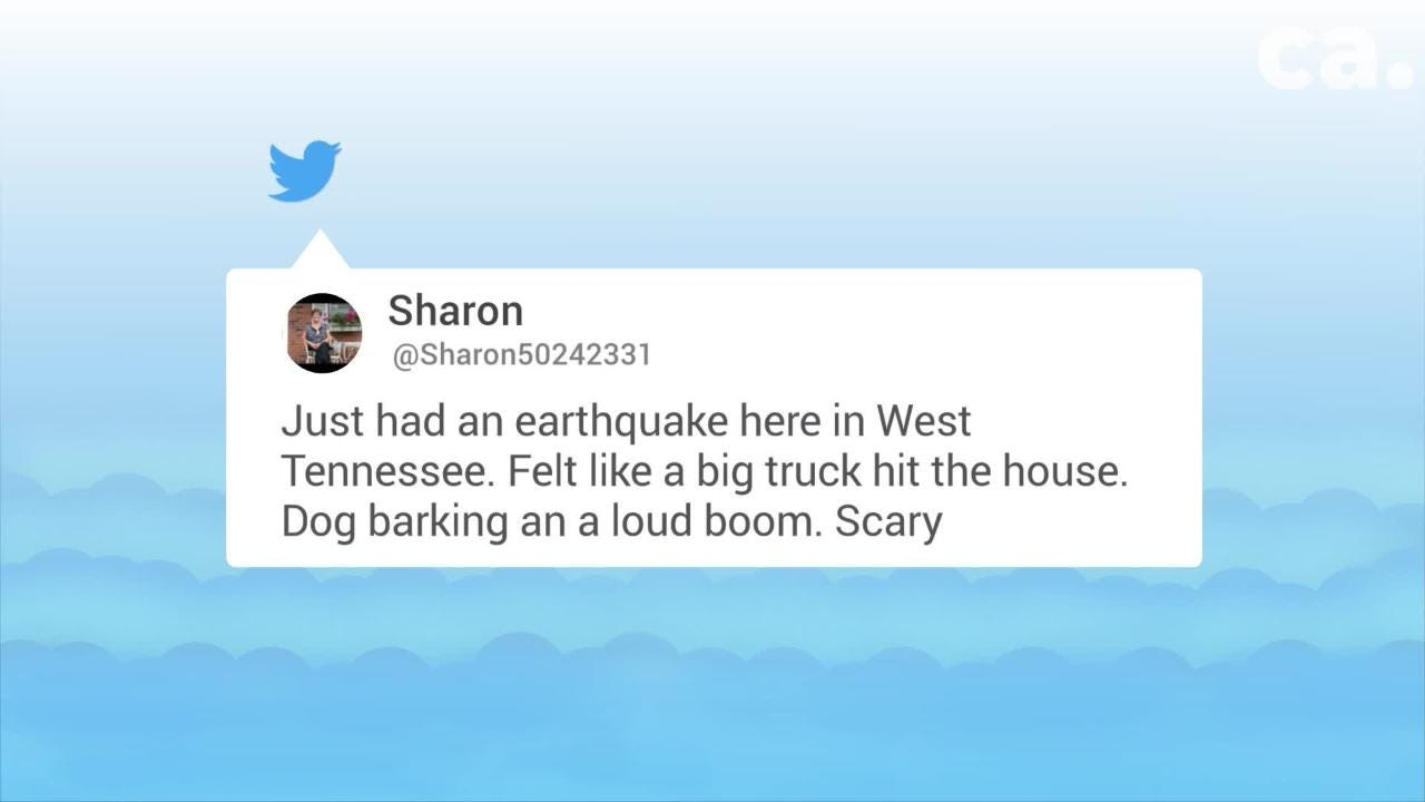 Earthquake hits West Tennessee