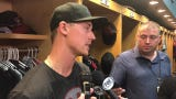 Diamondbacks' Luke Weaver describes his growing confidence after beating the Pittsburgh Pirates Tuesday night.
