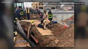 Cristopher Ramirez died last week after a trench collapsed at a Windsor construction site. His pregnant wife, Johanna Avita Hernandez, recounts how they met and the day of the collapse.