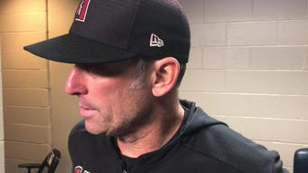 Diamondbacks manager Torey Lovullo discusses contributions from Ketel Marte and Merrill Kelly in Wednesday's 11-2 win over Pittsburgh.
